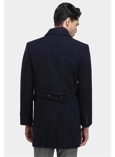 D'S Damat D'S Damat Regular Fit Erkek Yünlü Palto Lacivert